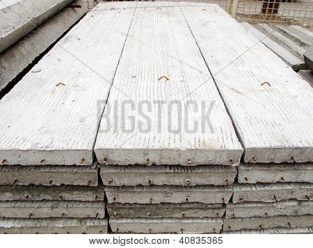 Stack Of Concrete Building Slab