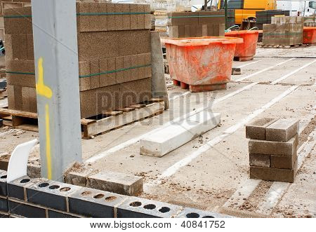 Builders Construction Site