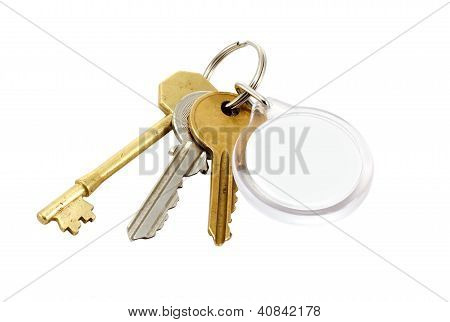 House Keys Blank Tab