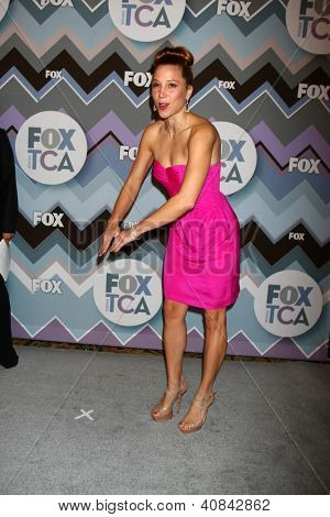 PASADENA, CA - JAN 8:  Becky Baeling attends the FOX TV 2013 TCA Winter Press Tour at Langham Huntington Hotel on January 8, 2013 in Pasadena, CA
