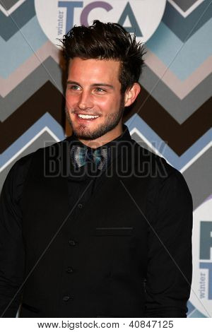PASADENA, CA- JAN 8:  Nico Tortorella attends the FOX TV 2013 TCA Winter Press Tour at Langham Huntington Hotel on January 8, 2013 in Pasadena, CA