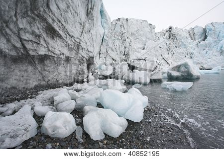 Global Warming - Melting Glaciers