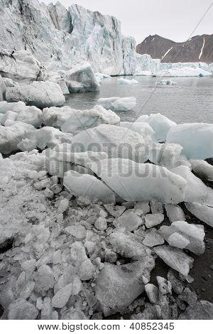 arktischen Gletschern