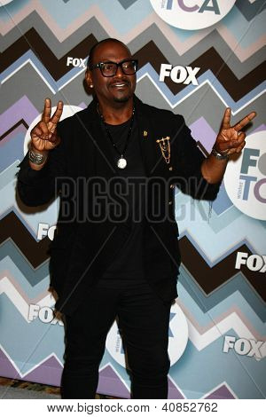 PASADENA, CA  - JAN 8:  Randy Jackson attends the FOX TV 2013 TCA Winter Press Tour at Langham Huntington Hotel on January 8, 2013 in Pasadena, CA