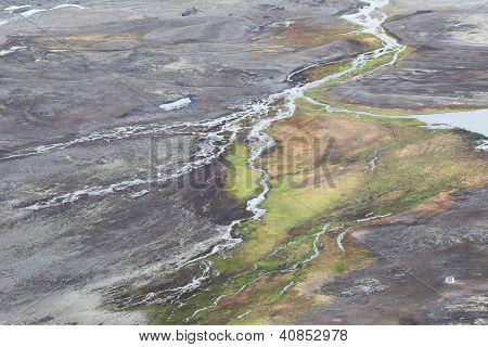 Arktische Tundra Spitsbergen, Svalbard