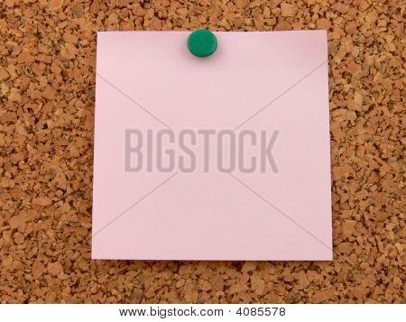 Pink Postit