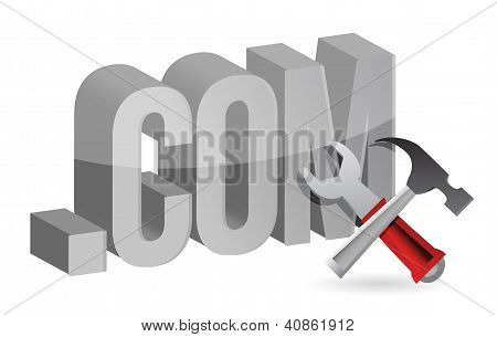 Web Design Symbol Or Concept