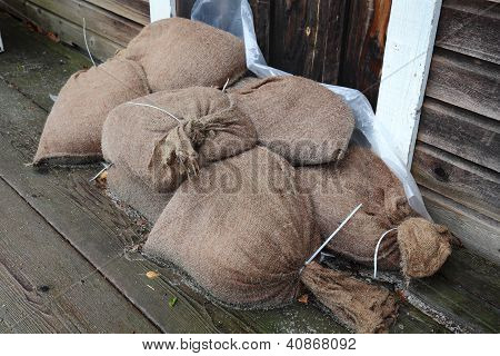 Flood Control, Sandbags