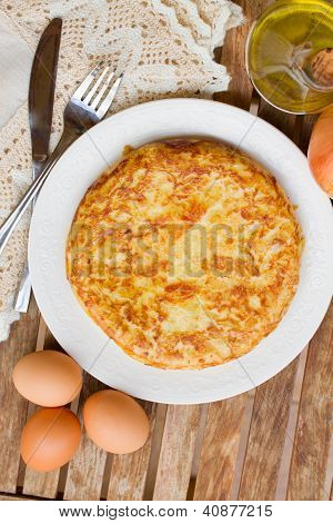spanish omelette tortilla