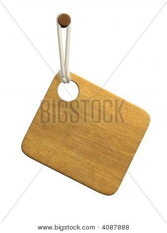 3D Wooden Tablet