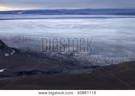 glaciers of the Northern island Novaya Zemlya 2