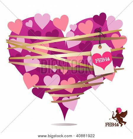 Bondage Valentine Heart