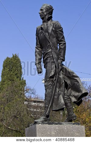 Sochi. N. Ostrovsky's Monument