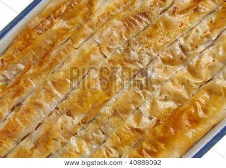 Traditional bulgarian pumpkin pastry - banitza