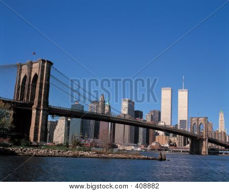 City With Bridge