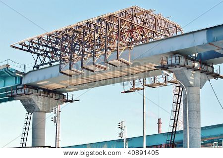 Construction Of The Overpass