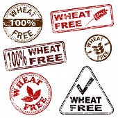 Wheat Free Stamps