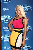 LOS ANGELES - JAN 9:  Nicki Minaj attends the 'American Idol' Premiere Event at Royce Hall, UCLA on
