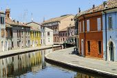 stock photo of ferrara  - Comacchio  - JPG
