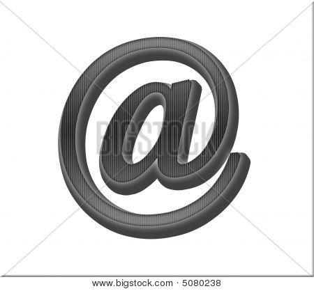 Black Internet Symbol