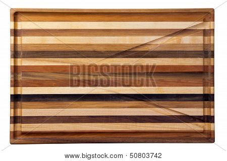 Multicolor Wooden Cutting Board