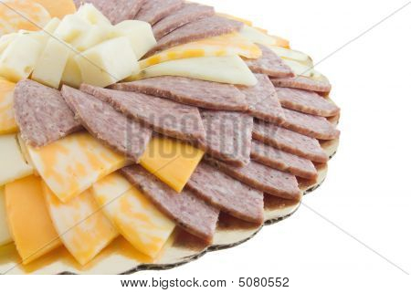 Cheese And Meat Tray