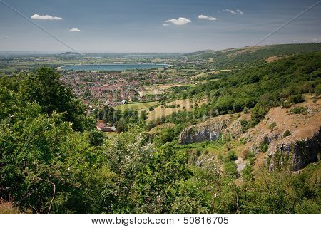 View of Cheddar (Cheddar Gorge Cliffs)