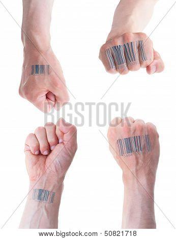 Biometric Id Concept.