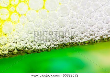 Soap Suds Close-up