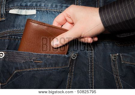 Stealing Wallet From Back Pocket