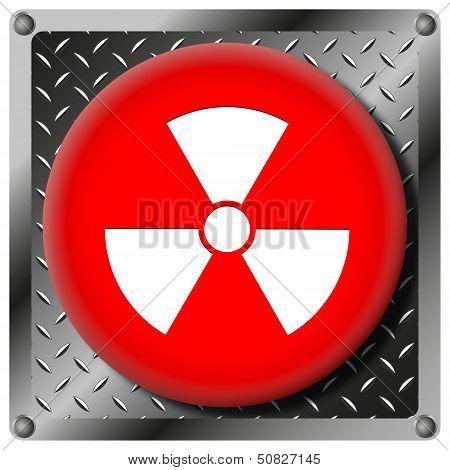 Radiation Metallic Icon