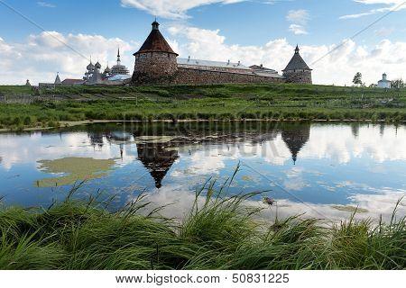 Solovki. Spaso-preobrazhenskiy Solovetsky Monastery, Karelia, Russia