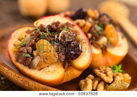 Savory Baked Apple