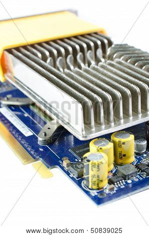 Video Card With Iron Heatsink