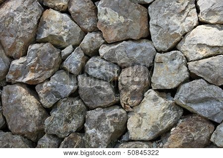 Dry Stone Rock Construction