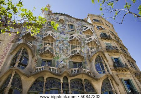 Batllo House In Barcelona