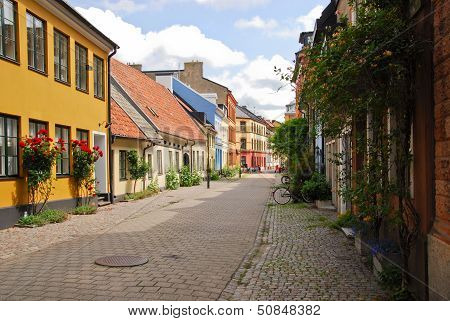 A Side Street In Malmo