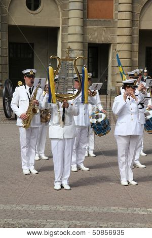 Military Band In Sweden