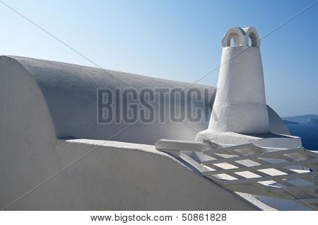 Chimney in Oia.