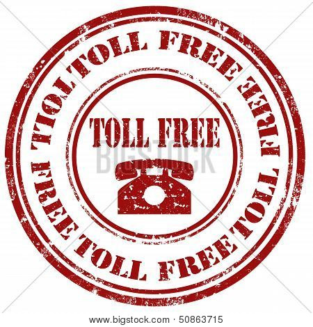 Toll Free-stamp