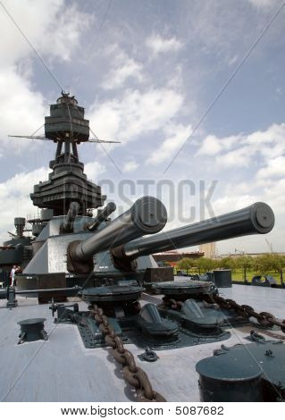 Uss Texas Bb35 Big Guns