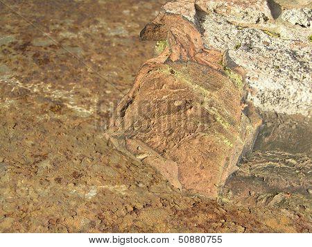 brick gland, кирпич на железе,
