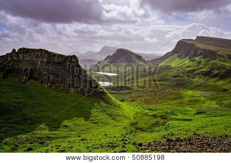Landscape View Mountains