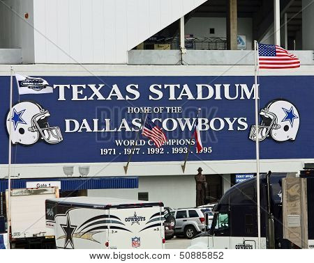 Texas Stadium In Irving, Texas