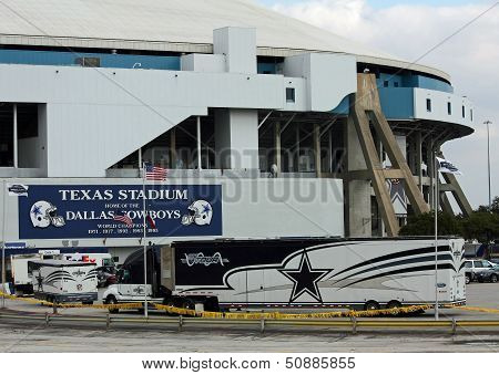 Former Home Of The Dallas Cowboys In Irving, Texas