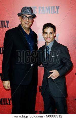 NEW YORK-SEP 10: Actors Raymond Franza (L) and John D'Leo  attend