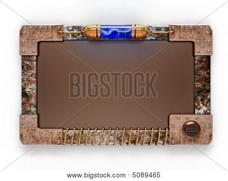 Steampunk Style Ad Board