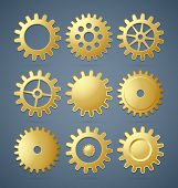 Golden Cogwheels