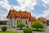 picture of reign  - The Marble Temple in Thailand - JPG