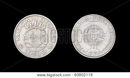 Coin of Mozambique